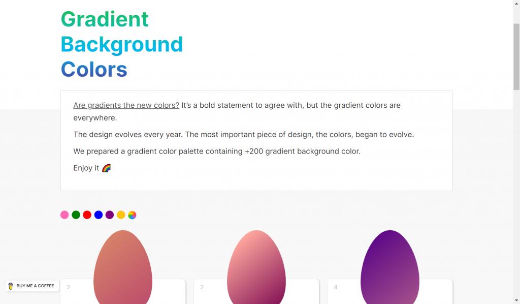 egg gradients gradientes 1