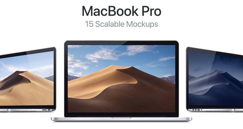 free macbook mockup template 04