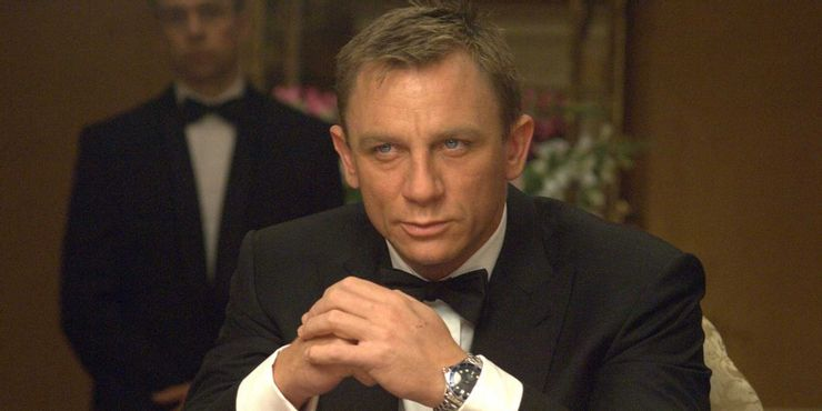Daniel Craig em Casino Royale