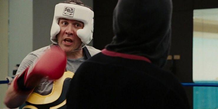 Jon Favreau como Happy Hogan em Homem de Ferro 2