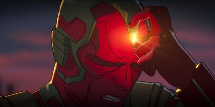 Marvel What If Visao Joia da mente