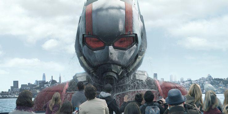 Paul Rudd como Homem Gigante em Homem Aranha e a Vespa