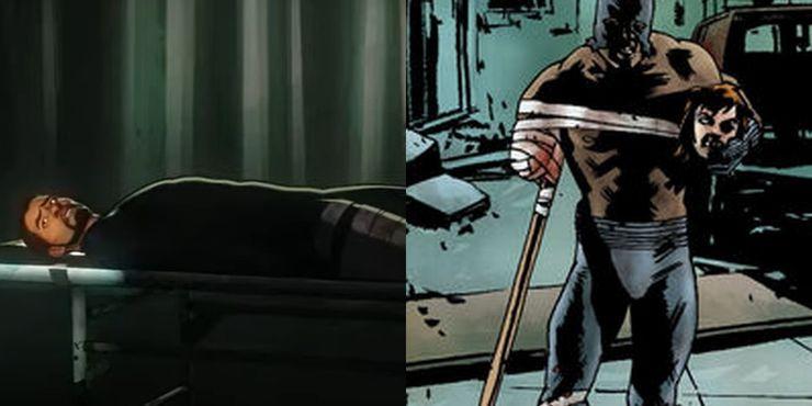 Perna do Pantera Negra em What If e Marvel Zombies
